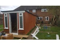 20x8 foot shed/mancave/bar