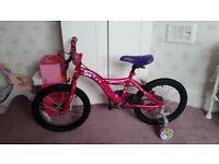 Girls bike age 4-8