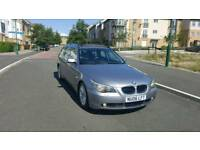 2006 bmw 520d SE Touring 6 speed turbo diesel MOT March 2019 full leather