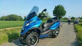 Piaggio mp3 500 scooter 2015 motorbike ABS ASR