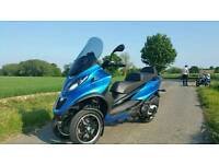 Piaggio mp3 500 scooter 2015 motorbike ABS ASR
