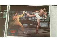 Game of death cinema lobby cards.