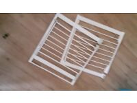 Stairgates x2 both for £15 no offers collection only whitchurch