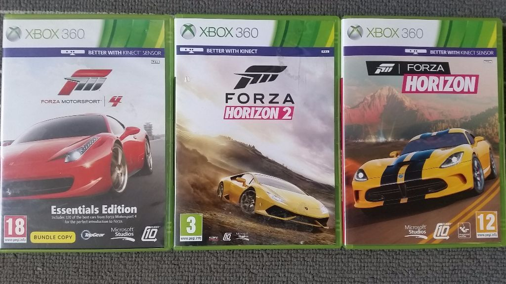 3 games xbox 360 forza horizon 2 forza horizon forza. Black Bedroom Furniture Sets. Home Design Ideas