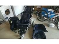 Jane Powertwin pro double buggy