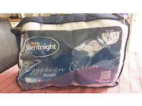 Silentnight Egyptian Cotton duvet 13.5 Tog single