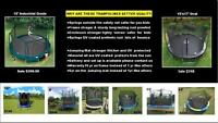 BRAND NEW TRAMPOLINES ~ SUMMER DEALS ~ DELIVERY ~ ALL SIZES