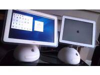 Apple Mac Desktop Computer - Imac G4 PC x 2 -Working and Good Condition