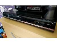 Toshiba DVD recorder with freeview