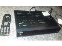 Goodmans freeview box with remote