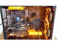 New gaming PC - Corsair Air 240, Skylake i5-6600, GTX 1050 Ti, SSD, 8GB RAM, micro ATX