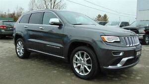 2016 Jeep Grand Cherokee SUMMIT - 5.7L HEMI V8 - ONLY 9,800 KMS