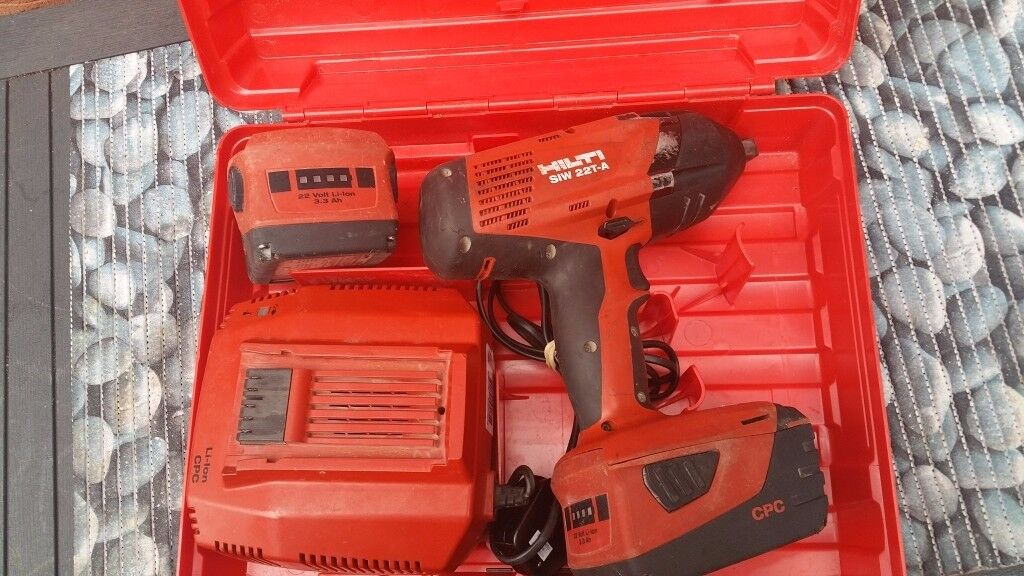hilti siw 22t a cordless impact wrench 1 2 in wednesbury. Black Bedroom Furniture Sets. Home Design Ideas