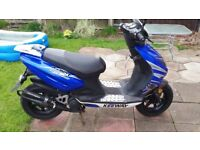 KEEWAY 50cc moped full mot very nice condition