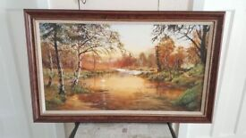 Dorothea Buxton-Hyde Original Oil painting 'Sunset' painted in 1996