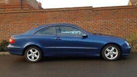 Mercedes CLK 270 CDI Avantgarde Auto (2002/52 Reg) Coupe + HUGE SPEC + 12 MONTHS MOT + NEW SHAPE +