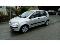 04 Hyundai Getz 5 Door Only 74000 Mls Full MOT Dec 2018 LOW INS ( can be viewed inside Anytime