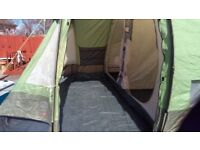 4 man tent & camping equipment