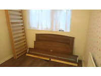 Double bed frame very good condition
