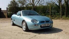 MG MGF SE Wedgewood Blue 1800cc - 39,000miles - Roof down motoring for the summer