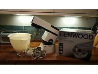 Retro Kitchen Kenwood Chef mixer and ice cream attachment. Great cakes.