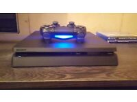 Playstation 4 console 500GB (With original box)