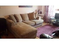 Next Corner Sofa in great condition. 1 year old