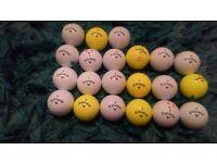 21 cxr power callaway and seven cxr control golf balls