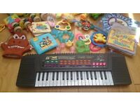 Lots of toys for 0-3 years - good quality and good brands