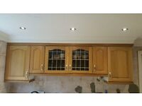 complete solid oak kitchen