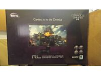 "MONITOR TV - GAMING - PC - BENQ RL2750 - 27"" INCH - 1MS RESPONSE - PS4 - XBOX - 360 - ONE - SPEAKERS"