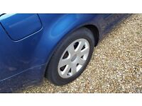 Audi 16inch alloys and tyres for A4 b7 cars