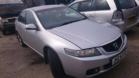 2004 HONDA ACCORD, 2.2 DIESEL, BREAKING FOR PARTS ONLY, POSTAGE AVAILABLE NATIONWIDE