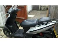 2012 Kymco Agility 50 Automatic MOT and taxe