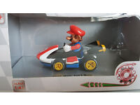 MARIO KART 8 -PULL AND SPEED TOY CAR MARIO 1:43 *NEW*!