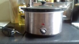 Slow cooker - bargain, used twice!