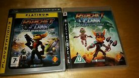 Two Ratchet and Clank PS3 games