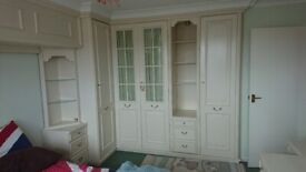 Fitted wardrobes and vanity unit