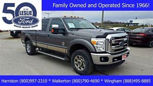 2014 Ford F-250 Lariat 4X4   One Owner   Leather