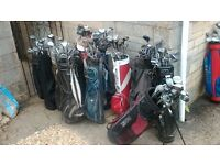 Joblot of golf items