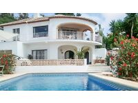 Traditional Villa on Costa Blanca: Sleeps 6, Private pool, Satellite TV, WIFI, close to beaches
