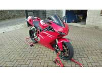 ducati 1098. full termi system. new tyres. recent belts and service. mint. 916, 748,999,