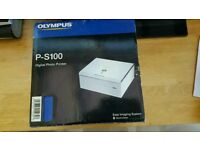 Olympus p-s100 digital photo printer