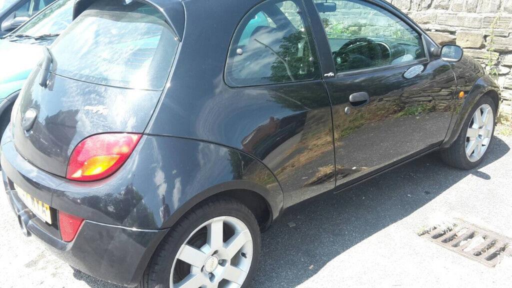 Ford Ka  Door Hatchback  Black