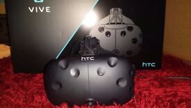 HTV Virtual Reality Headset - All Original with Extras. Used only a couple of times