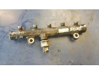 FORD MONDEO MK4 S MAX 07-14 2.0 TDCI FUEL INJECTION INJECTOR RAIL 9681649580 LUTON