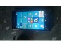 For sale we have a nokia lumia 550 on 02 network