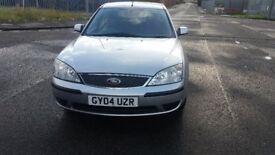 2004 FORD MONDEO LX 1.8 LITRE, 79000 MILEAGE, 13 SERVICES HISTORY, PERFECT CONDITION IN AND OUTSIDE