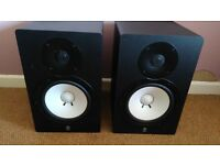 Yamaha HS80M (Pair) Active Studio Monitors (not KRK GENELIC MACKIE)