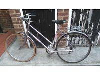Lovely Vintage Ladies Raleigh Bike Has 3 Speed